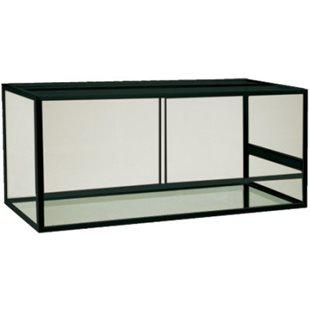 Terrarium - Aluminium - Svart - 125x50x60