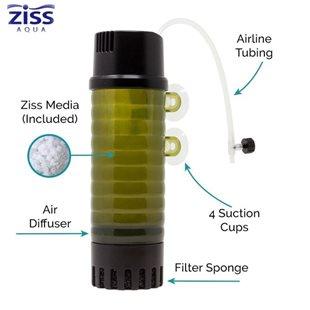 Ziss Aqua ZB-200 Moving bed filter - Luftdrivet