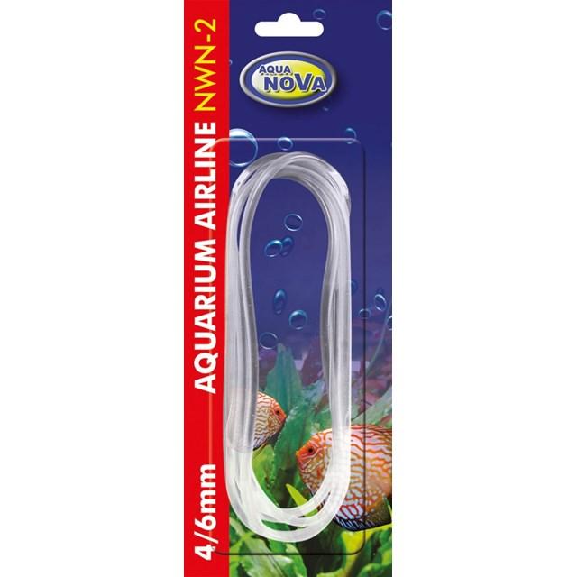 Aqua Nova - Syreslang 4/6 mm - 2 m