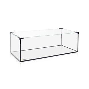Zqare - Lågt akvarium med täckglas & hållare