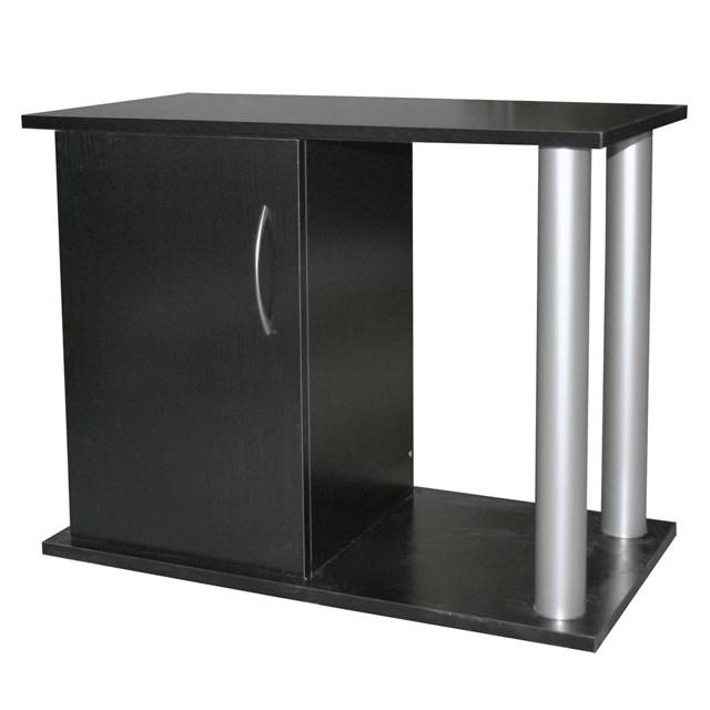 Akvariebord - svart-rör - 110x45x60