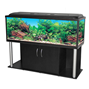 Akvariebord - svart-rör - 150x50x60