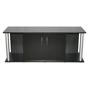 Akvariebord - svart-rör - 150x60x60