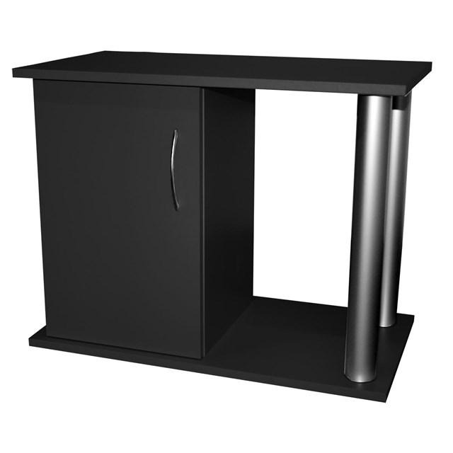 Akvariebord - svart-rör - 95x40x60