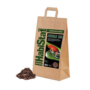 HabiStat Jungle Bio - Bottensubstrat - 25 Liter