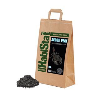 HabiStat Sedge Peat - Bottensubstrat - 10 Liter