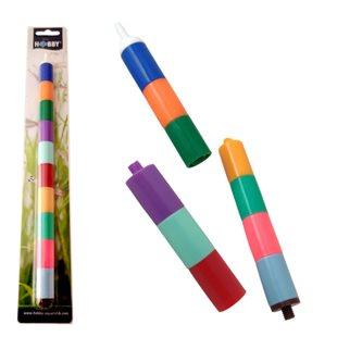 Hobby - Regnbågsfärgad Syresten L - 17 x 290 mm