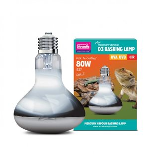 Arcadia D3 Basking Lamp Generation 2 UVB - 80 W