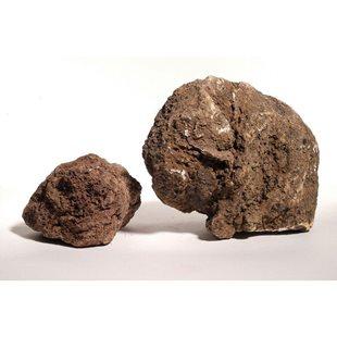 Aquadeco Mörkröd lavasten - 20 kg