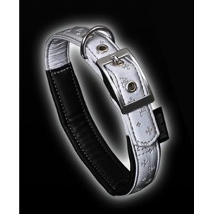 Halsband Art Leather Reflex 20 mm x 52 Cm