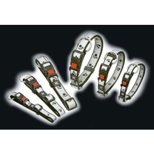 Halsband Reflex m. tassavtryck - 15mm x 30-45 cm