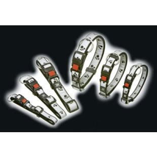 Halsband Nylon Reflex Med Tassar 45-65 Cm  25 mm