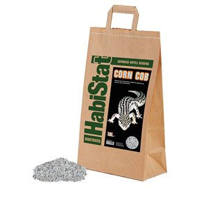 HabiStat Corn Cob - Bottensubstrat - 10 Liter