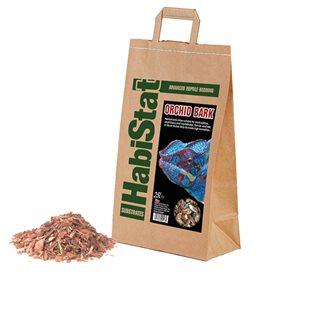HabiStat Orchid Bark - Fin - Bottensubstrat - 25 L