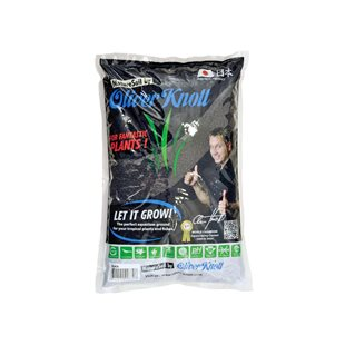 Aquadeco Nature Soil - Svart - 2-3 mm - 3 liter