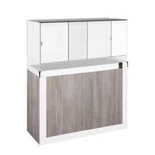 Zqare - Terrarium 120x50x60 cm med möbel