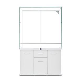 Zqare - Terrarium & Möbel - 195 cm högt - Exklusiv design - Vit