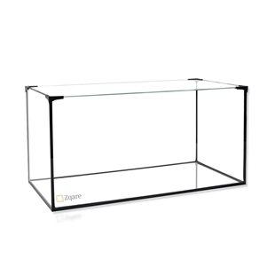 Zqare - Helglasakvarium - 54 liter - Med täckglas & hållare