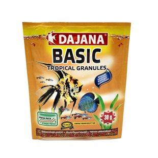 Dajana Basic Tropical Granules - Granulat - 80 ml