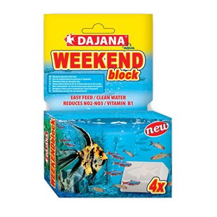 Dajana - Weekend block - 25 g - Semesterfoder
