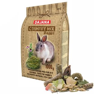 Dajana - Country Mix Rabbit 1000 g - Kanin