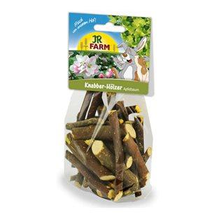 Jr Farm - Gnagarpinnar Äppelträ - 100g