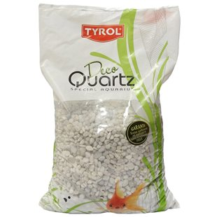 Deco Quartz - N15 White 5-12 mm - 3 liter