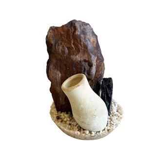 Sydeco Stendekoration med vas - 15 cm