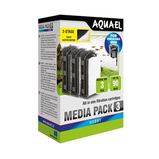 Aquael - VersaMax Mini Filterpatron - 3-pack