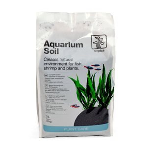 Tropica - Aquarium Soil - Bottensubstrat - 3 liter