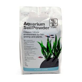 Tropica - Aquarium Soil Powder - Bottensubstrat - 3L