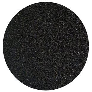 Svart grovporig filtermatta - 50x50x2 cm - 10 PPI