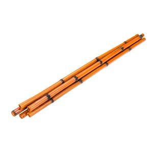 Bamburör - Tigerbambu - Orange - 90 cm - 5-pack