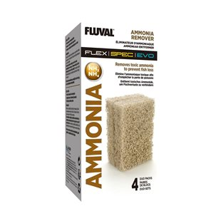 Fluval Ammonia Remover - Spec/Flex - 4-pack