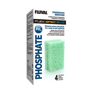 Fluval Phosphate Remover - Spec/Flex - 4-pack