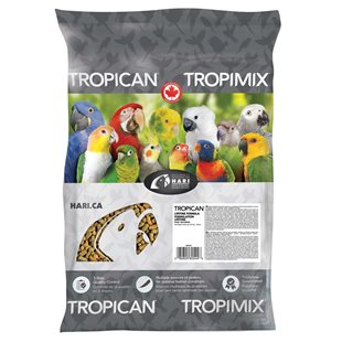 Tropican Papegoj Sticks - 9 kg