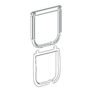 Dörr Kit 406 - Vit - Till Swing 5 & 7 & Microchip