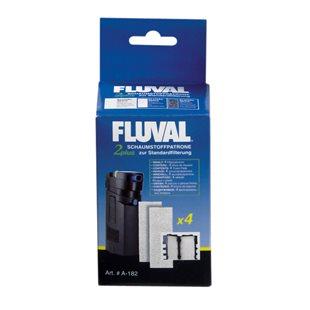 Fluval 2 Plus - Filtermatta - Skum - 4-pack