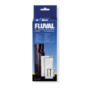 Fluval 3 Plus - Filtermatta - Fin - 4-pack