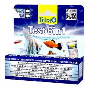 Tetra Test 6 in 1 - 25 st
