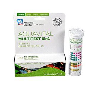 AquaVital Multistick Test Stickor 6 in 1 - 50 st
