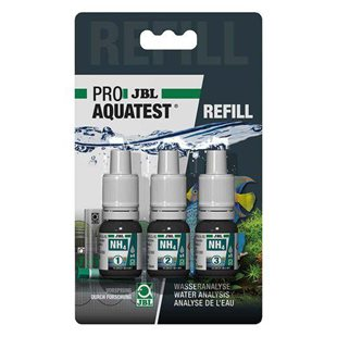 JBL Pro Aquatest - Refill NH4-test - Ammonium