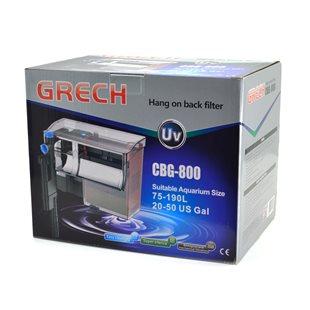 SunSun/Grech CBG-800 - Påhängsfilter med UV-C Lampa