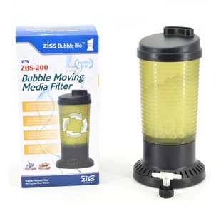 Ziss Aqua ZBS-200 Moving bed filter - Luftdrivet