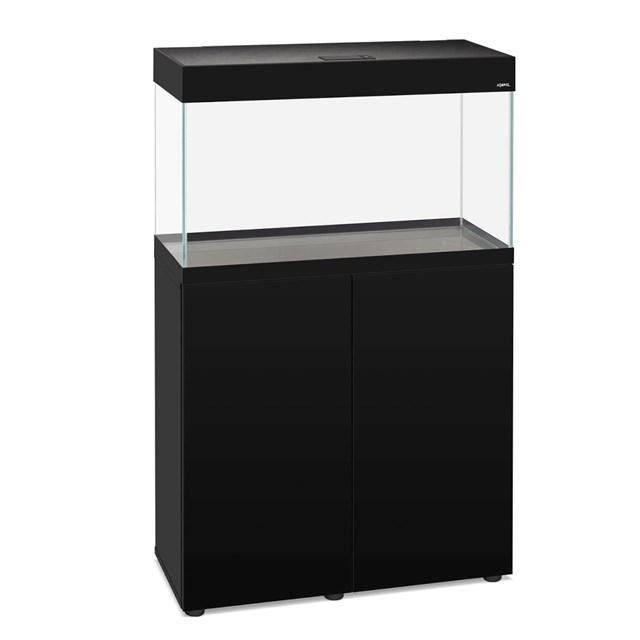 Aquael Opti Set 125 liter - Svart möbelakvarium