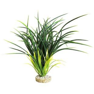 Plastväxt - Bioaqua Acorus - Grön - 29 cm