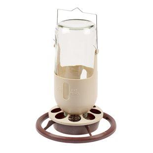 Mine Lamp Feeder with Glass Jar - Vattenautomat