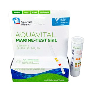 AquaVital Marine Test - 5 in 1 - 50 st