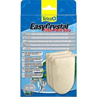 Tetra EasyCrystal 600 - Filterpatron - 3 st