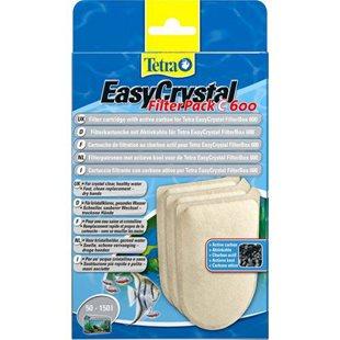 Tetra EasyCrystal 600 - Filterpatron - 3 st - Med Kol